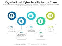 Organizational Cyber Security Breach Cases