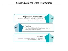 Organizational Data Protection Ppt Powerpoint Presentation Outline Slides Cpb