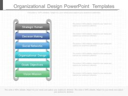 Organizational Design Powerpoint Templates