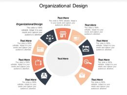 Organizational Design Ppt Powerpoint Presentation Ideas Deck Cpb
