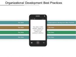 Organizational Development Best Practices Ppt Powerpoint Presentation Inspiration Themes Cpb