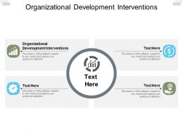 Organizational Development Interventions Ppt Powerpoint Presentation Inspiration Outfit Cpb