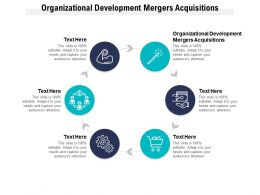 Organizational Development Mergers Acquisitions Ppt Powerpoint Presentation Outline Files Cpb