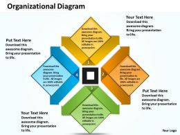 Organizational Diagram Powerpoint Slides Presentation Diagrams Templates