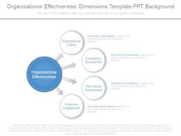 organizational_effectiveness_dimensions_template_ppt_background_Slide01