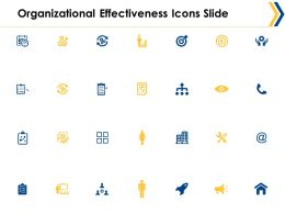 Organizational Effectiveness Icons Slide Ppt Powerpoint Presentation File Inspiration