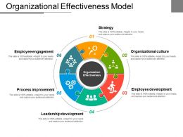 Organizational Effectiveness Model Powerpoint Slide
