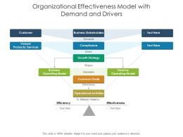 Organizational Effectiveness Model With Demand And Drivers
