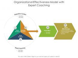 Organizational Effectiveness Model With Expert Coaching