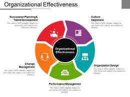 Organizational Effectiveness Powerpoint Slide Background Designs