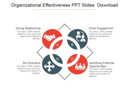 Organizational Effectiveness Ppt Slides Download