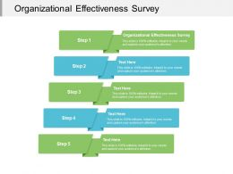 Organizational Effectiveness Survey Ppt Powerpoint Presentation Professional Background Cpb