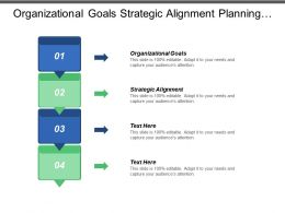 Organizational Goals Strategic Alignment Planning Goals Positioning Strategy Marketing Cpb