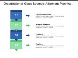Organizational Goals Strategic Alignment Planning Goals Positioning Strategy Marketing Cpb