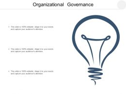 Organizational Governance Ppt Powerpoint Presentation Inspiration Graphics Example Cpb