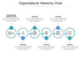 Organizational Hierarchy Chart Ppt Powerpoint Presentation Templates Cpb