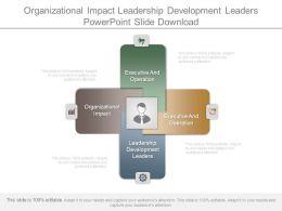 Organizational Impact Leadership Development Leaders Powerpoint Slide Download