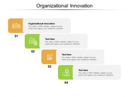 Organizational Innovation Ppt Powerpoint Presentation Infographics Structure Cpb