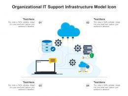 Organizational It Support Infrastructure Model Icon