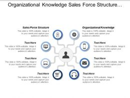 Organizational Knowledge Sales Force Structure Sales Processes Sales Metrics