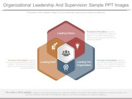 Organizational Leadership And Supervision Sample Ppt Images