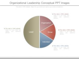 Organizational Leadership Conceptual Ppt Images