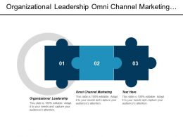 Organizational Leadership Omni Channel Marketing Digital Marketing Talent Development Cpb