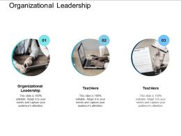 Organizational Leadership Ppt Powerpoint Presentation Icon Samples Cpb