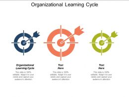 Organizational Learning Cycle Ppt Powerpoint Presentation Gallery Master Slide Cpb
