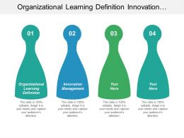 Organizational Learning Definition Innovation Management Team Conflict Management Cpb