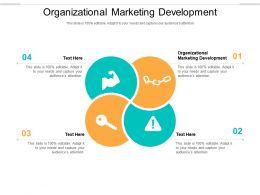 Organizational Marketing Development Ppt Powerpoint Presentation Summary Gallery Cpb