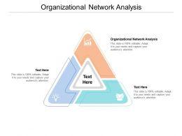 Organizational Network Analysis Ppt Powerpoint Presentation Slides Slideshow Cpb