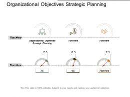 Organizational Objectives Strategic Planning Ppt Powerpoint Presentation Model Cpb