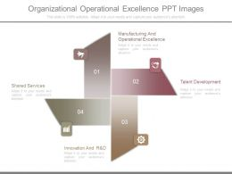 Organizational Operational Excellence Ppt Images