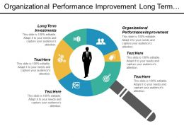 Organizational Performance Improvement Long Term Investments Risk Enterprise Management Cpb