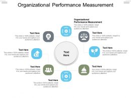 Organizational Performance Measurement Ppt Powerpoint Presentation Layouts Tips Cpb