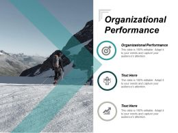 Organizational Performance Ppt Powerpoint Presentation Gallery Examples Cpb