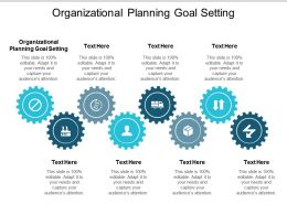 Organizational Planning Goal Setting Ppt Powerpoint Presentation Summary Layouts Cpb