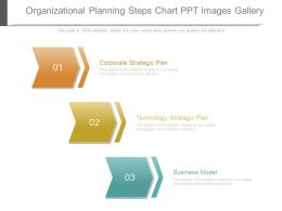 Organizational Planning Steps Chart Ppt Images Gallery