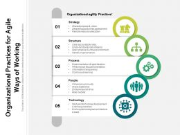 Organizational Practices For Agile Ways Of Working