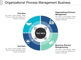 Organizational Process Management Business Process Reengineering Process Steps Cpb