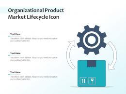 Organizational Product Market Lifecycle Icon