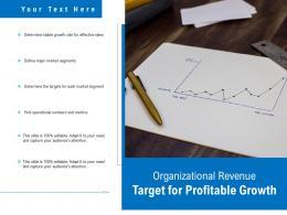Organizational Revenue Target For Profitable Growth