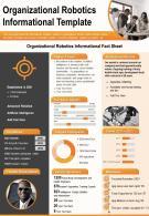 Organizational Robotics Informational Template Presentation Report Infographic PPT PDF Document
