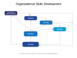 Organizational Skills Development Ppt Powerpoint Presentation Ideas Portfolio Cpb