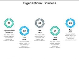 Organizational Solutions Ppt Powerpoint Presentation Styles Gridlines Cpb