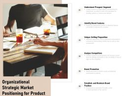 Organizational Strategic Market Positioning For Product
