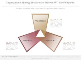 Organizational Strategy Structure And Process Ppt Slide Templates