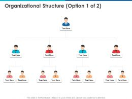Organizational Structure Communication Ppt Powerpoint Presentation File
