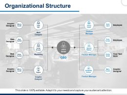 Organizational Structure Employee Ppt Powerpoint Presentation File Templates